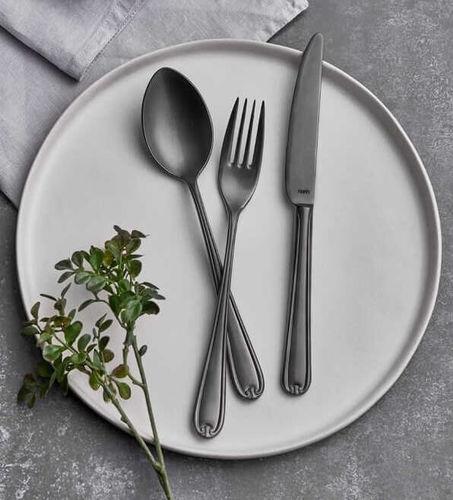 Anatolia Matt Anthracite 18pc / 42pc Cutlery Set