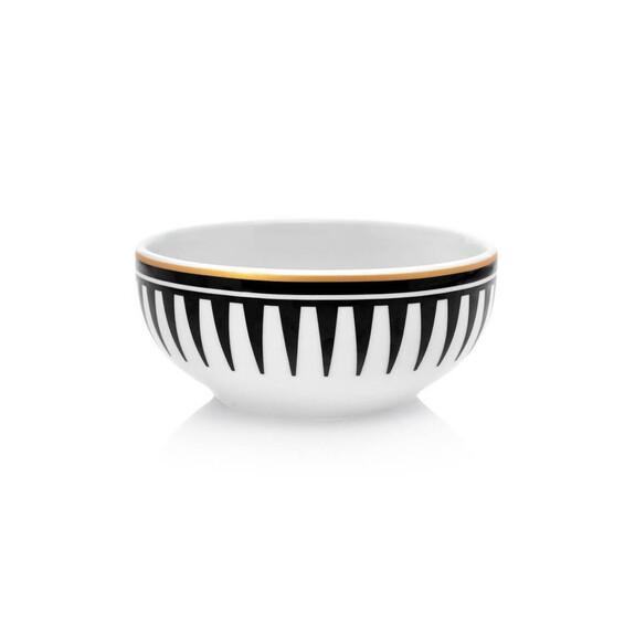 ZM DECOR - Black Love 6pc Soup Bowl Set 13cm