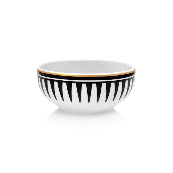 ZM DECOR - Black Love 6pc Soup Bowl Set 13cm