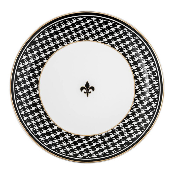 ZM DECOR - Black Pearl 6pc Dinner Plate Set 28cm