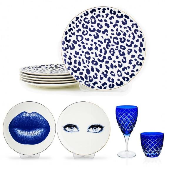 MIKASA MOOR - .Bonita.Blue 6-Person 24pc Full Collection