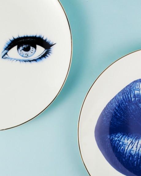 Bonita Blue 6pc Dessert Plate Set 21cm - Thumbnail