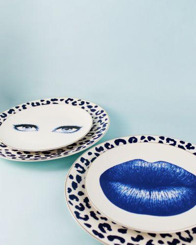 Bonita Blue 6pc Dessert Plate Set 21cm