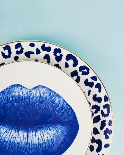 Bonita Blue 6pc Dinner Plate Set 27cm