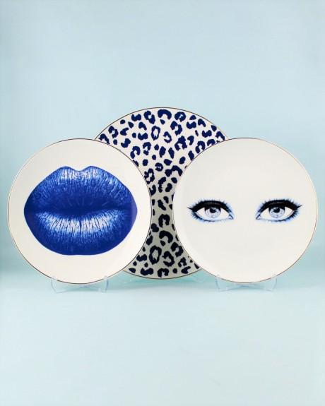 Bonita Blue 6pc Dinner Plate Set 27cm - Thumbnail