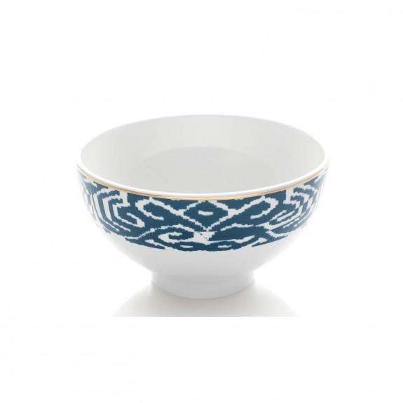 .Budai Blue 12pc Dinnerware Set - Thumbnail