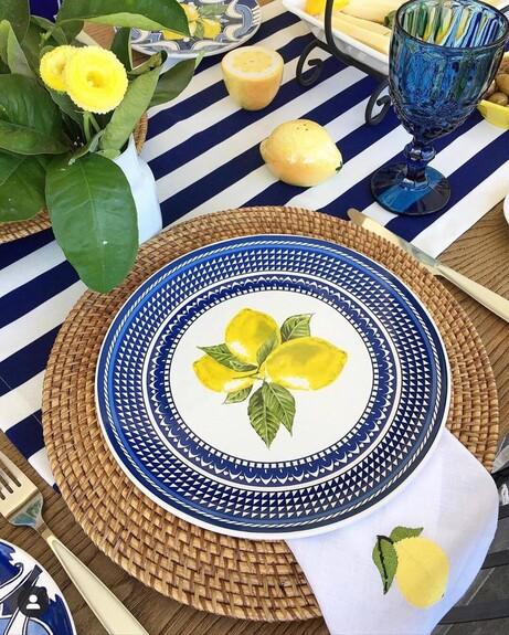 Capri 6pc Dinner Plate Set 26cm - Thumbnail