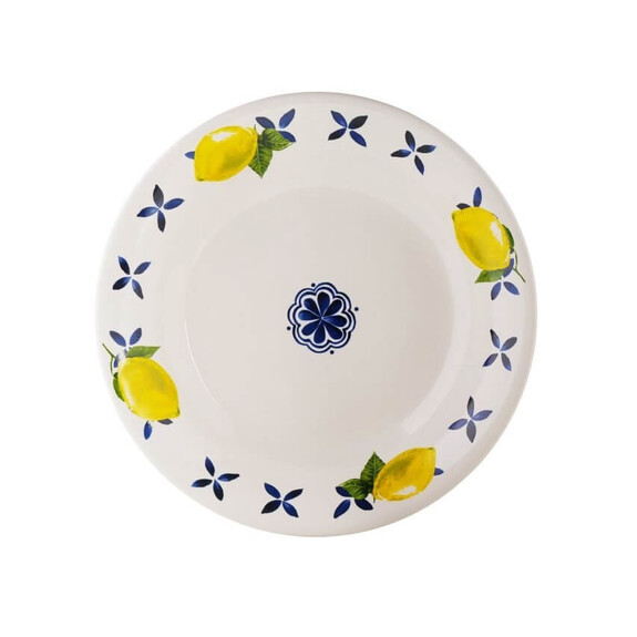 ZM DECOR - Capri 6pc Pasta Plate Set 20cm