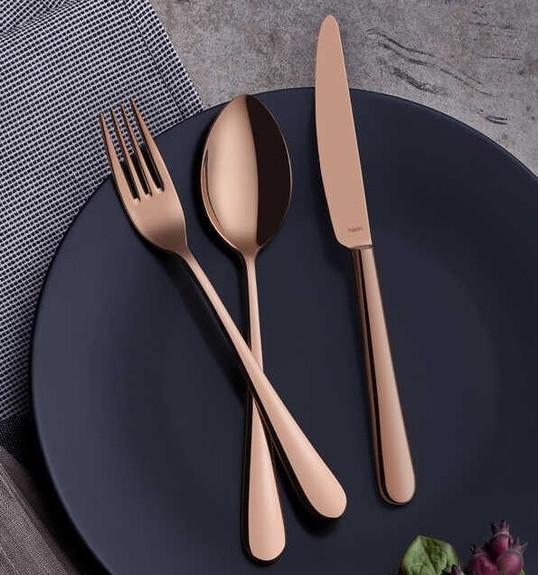 NARIN - Epsilon Copper 18pc / 42pc Cutlery Set