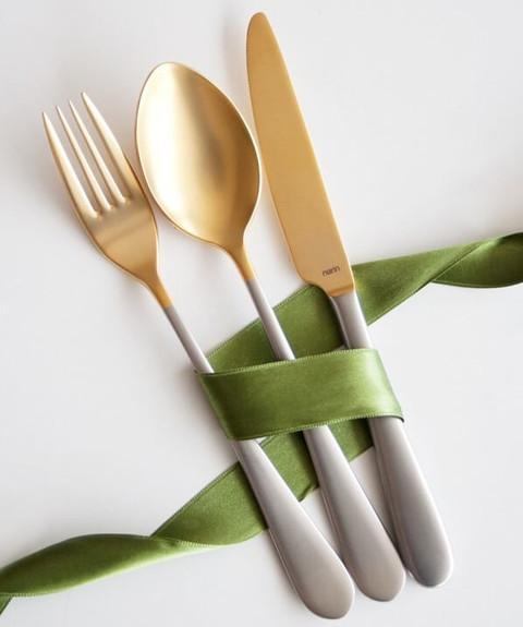 NARIN - Epsilon Gold 18pc / 42pc Cutlery Set