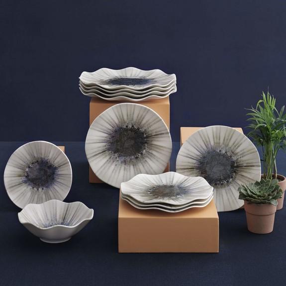 GURAL - Fine Design 01 24-Piece Dinnerware Set