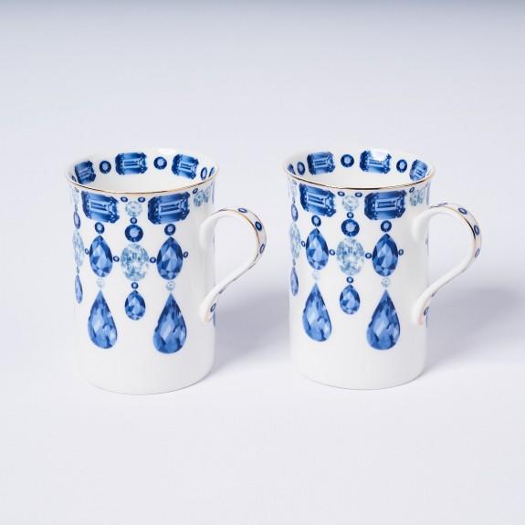 MIKASA MOOR - Jewel 2pc Mug Set