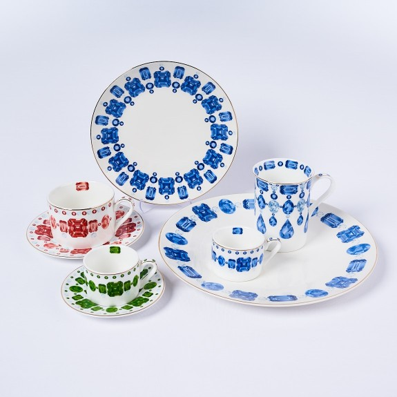 .Jewel 6-Person 42pc Full Collection - Thumbnail