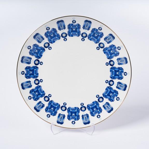 MIKASA MOOR - Jewel 6pc Dessert Plate Set 20cm