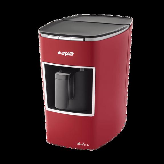 ARCELIK - K 3400 Red Turkish Coffee Machine w/ Water Tank