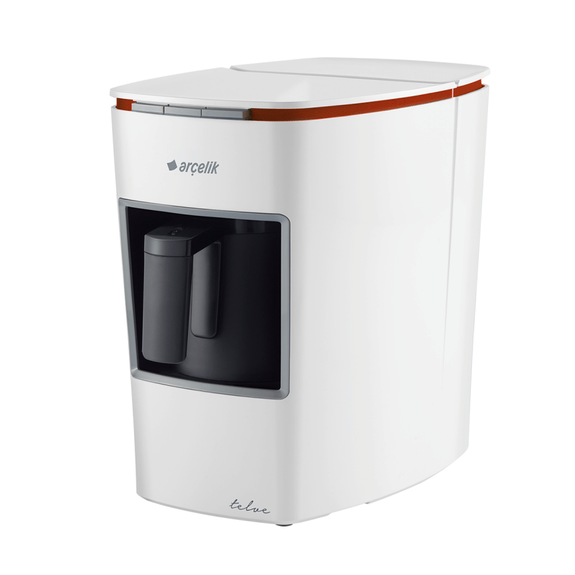 ARCELIK - K 3400 White Turkish Coffee Machine w/ Water Tank