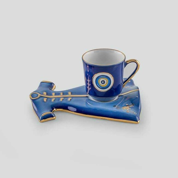GURAL - Kaftan 1-Person Turkish Coffee Set