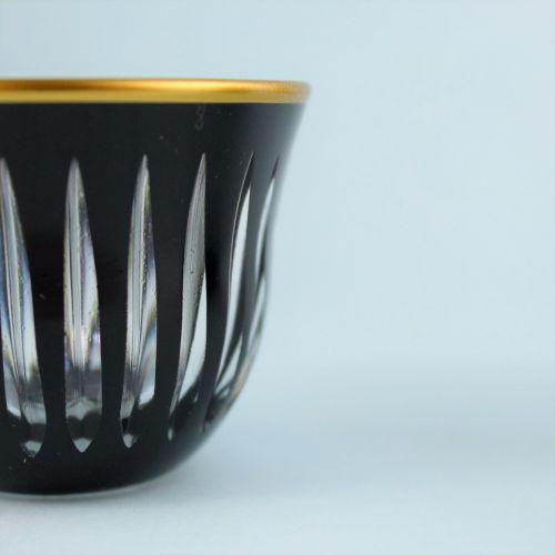 .'TG Knight Black Handle 18pc Tea + Arabic Coffee Set