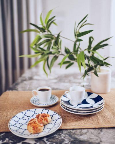 'Mavili 4-Person 12pc Coffee Time Set