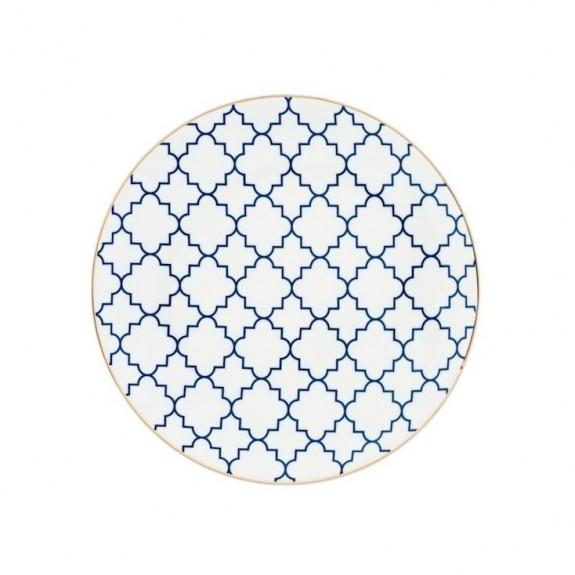 Mavili 4pc Breakfast Plate Set 23cm - Thumbnail