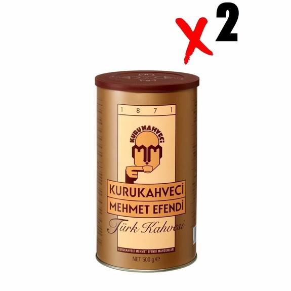 Mehmet Efendi - Mehmet Efendi Turkish Coffee 500 gr 2-Pack