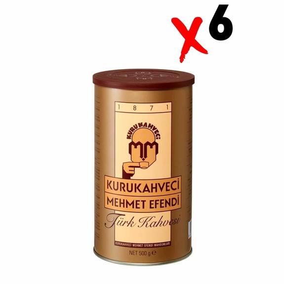 Mehmet Efendi - Mehmet Efendi Turkish Coffee 500 gr 6-Pack