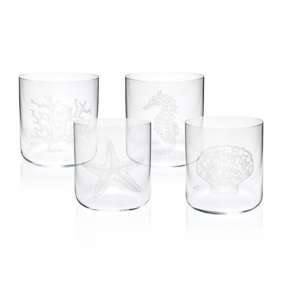ZM DECOR - Mercan 4pc Glassware Set 390cc