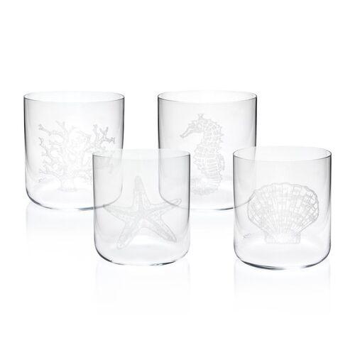 Mercan 4pc Glassware Set 390cc