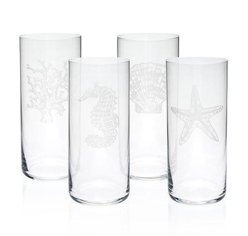 Mercan 4pc Glassware Set 445cc