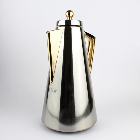 'Miriam Silver 1 lt Thermos Flask - Thumbnail