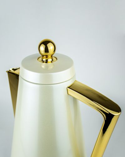 ''Miriam White 1 lt Thermos Flask