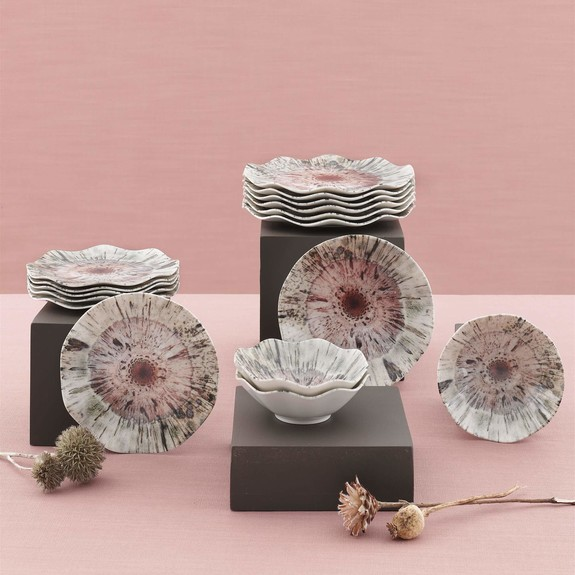 GURAL - Nersin 24-Piece Dinnerware Set