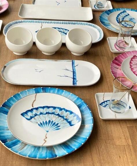 New Grace 2pc Oval Dish Set 42cm & 34cm - Thumbnail