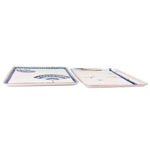 MIKASA MOOR - New Grace 2pc Square Dish Set 25cm