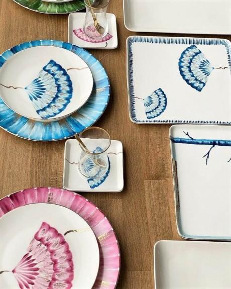 New Grace 2pc Square Dish Set 25cm - Thumbnail