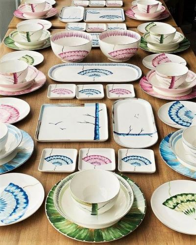 New Grace 2pc Square Dish Set 25cm