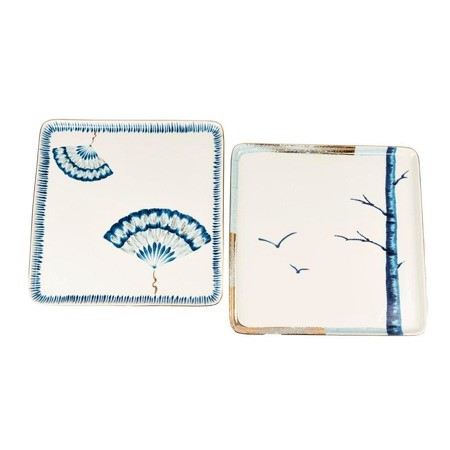 MIKASA MOOR - New Grace 2pc Square Dish Set 25cm