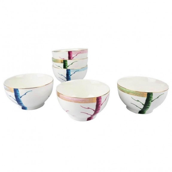 New Grace 6pc Bowl Set 13cm - Thumbnail
