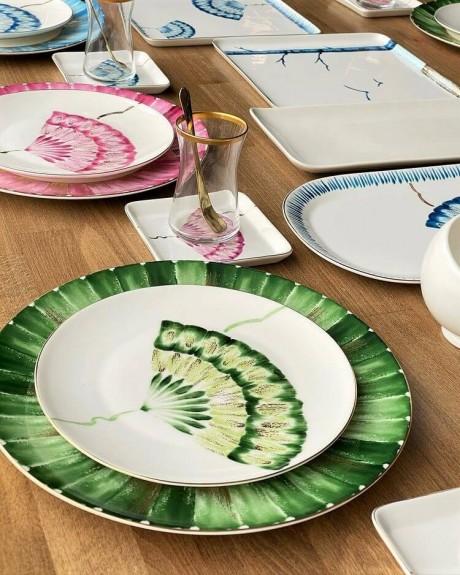 New Grace 6pc Dinner Plate Set 27cm - Thumbnail