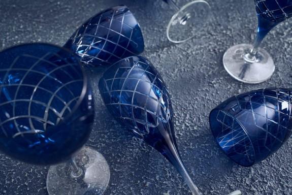 Nila Blue 6pc Stemware Set - Thumbnail