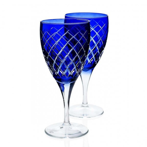 Nila Blue 6pc Stemware Set - Thumbnail