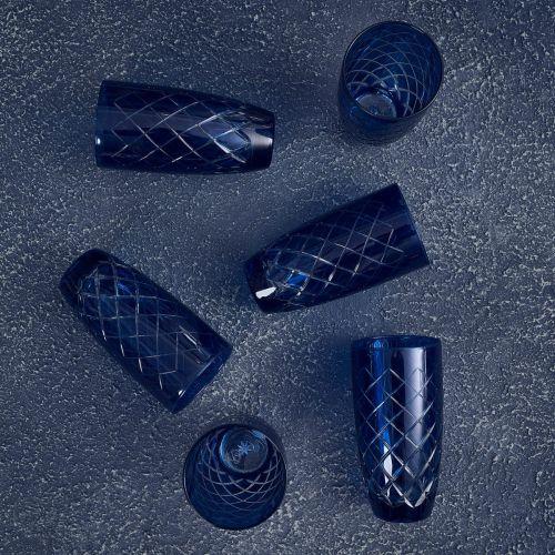 Nila Blue 6pc Water Glass Set - Large
