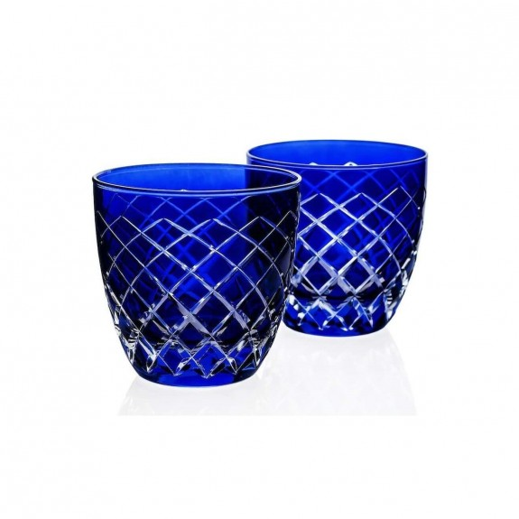 ZM DECOR - Nila Blue 6pc Water Glass Set - Small