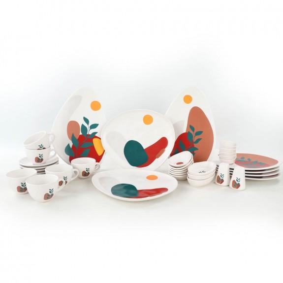 .Olivia 37pc Breakfast Set - Thumbnail