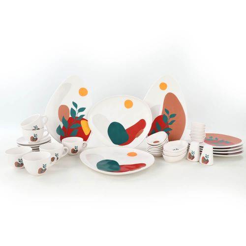 .Olivia 37pc Breakfast Set