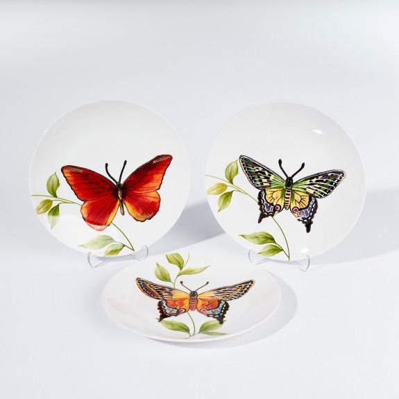 MIKASA MOOR - Papiyon 6pc Dessert Plate Set 20cm