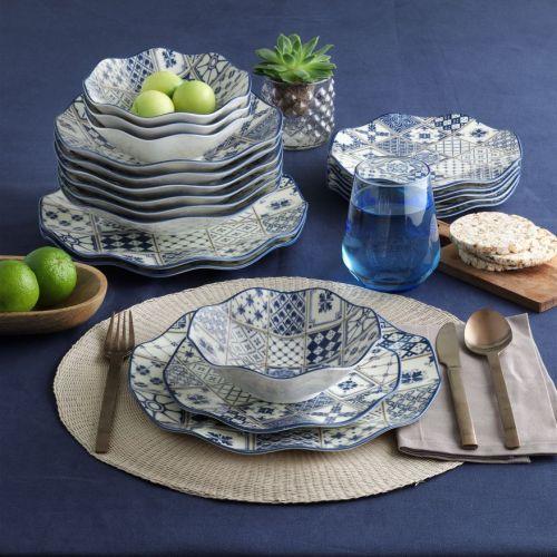 .Samara 24-Piece Dinnerware Set