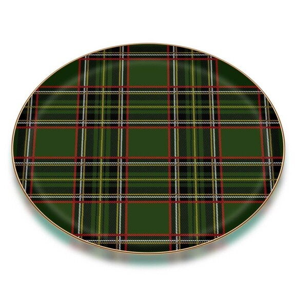 GLORE - Scottish Green Serving Tray
