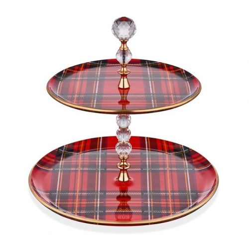 Scottish Red Serving Stand