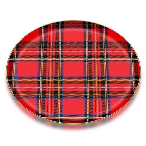 Scottish Red Serving Tray
